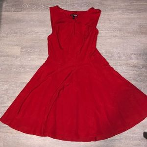 Express Size 2 Red Cocktail Dress